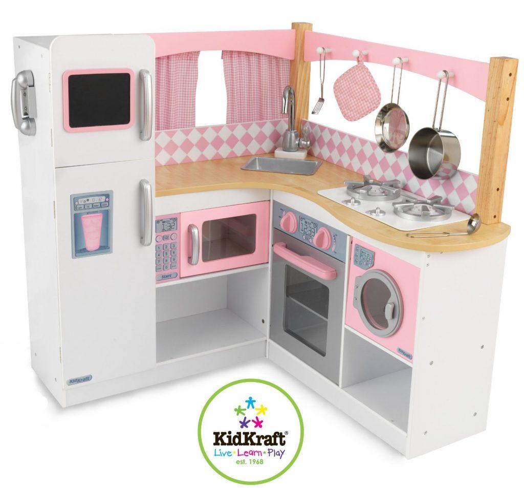 Gourmet-Kinderküche aus Holz von KidKraft