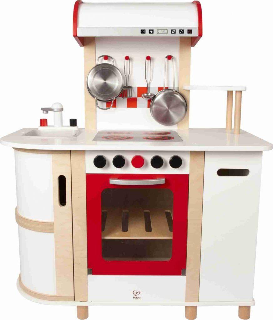 geschenk-idee kinderküche aus holz: für kleine köchinnen
