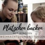 Plätzchen backen mit Kindern 2016
