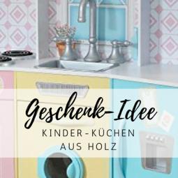 Geschenk-Idee Kinderküche aus Holz: Für kleine Köche und Bäcker