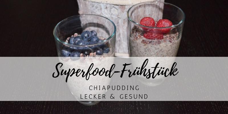 Superfood-Frühstück – gesunder Chia-Pudding
