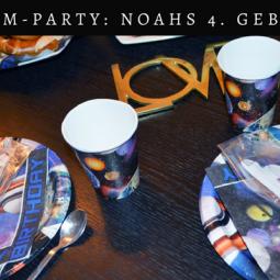 Weltraum-Geburtstagsparty: Noahs 4. Geburtstag