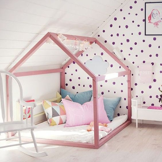 Kinderzimmer inspiration f r m dchen style pray love for Kinderzimmer 7 5 m2