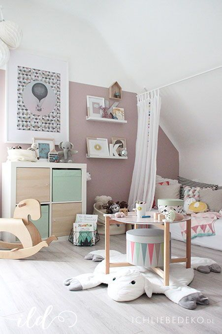 Kinderzimmer inspiration f r m dchen style pray love - Kinderzimmer diy ...