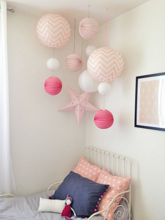 Kinderzimmer inspiration f r m dchen style pray love for Kinderzimmer deko sterne
