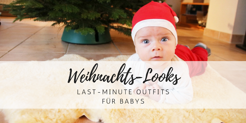 Last Minute-Weihnachtslooks für Babys & Kleinkinder