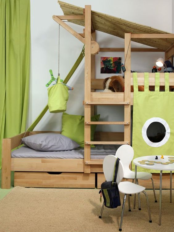 kinderzimmer inspirationen f r jungen style pray love. Black Bedroom Furniture Sets. Home Design Ideas