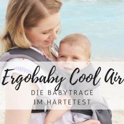 Ergobaby im Test: Die coole Babytrage für Sommer und Winter