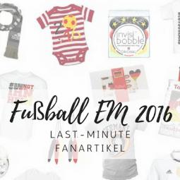 EM 2016: Last Minute Fanartikel für die ganze Familie