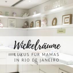 Unterwegs mit Baby: familienfreundliche Wickelräume