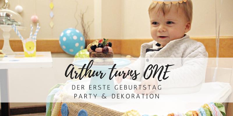 Arthurs 1. Geburtstag: Willkommen im Zirkus!