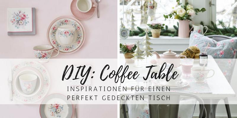 DIY-Inspiration: der perfekte Coffee Table