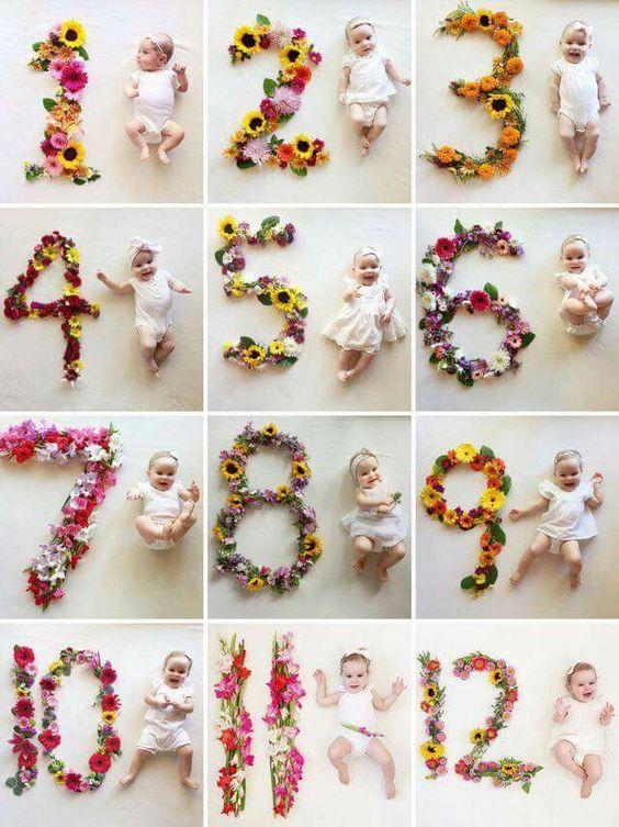 Diy Baby Fotografie Das Erste Jahr In Fotos Style Pray Love