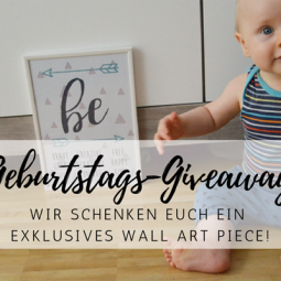 Exklusives Wall Art Design: unser Blog-Geburtstag Giveaway