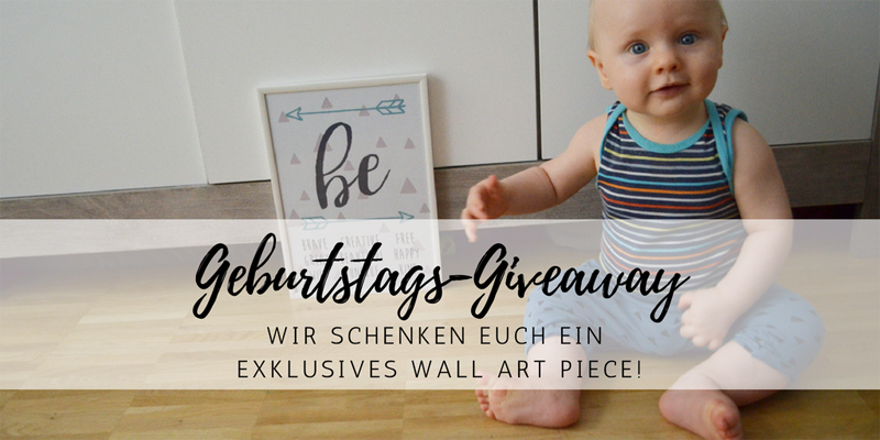 Exklusives Wall Art Design: unser Blog-Geburtstag Giveaway