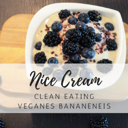 Nice Cream:  Gesundes, veganes Bananeneis für Kinder