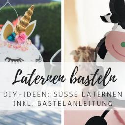 DIY-Ideen: Süße Laternen und Lampions für den Martinstag