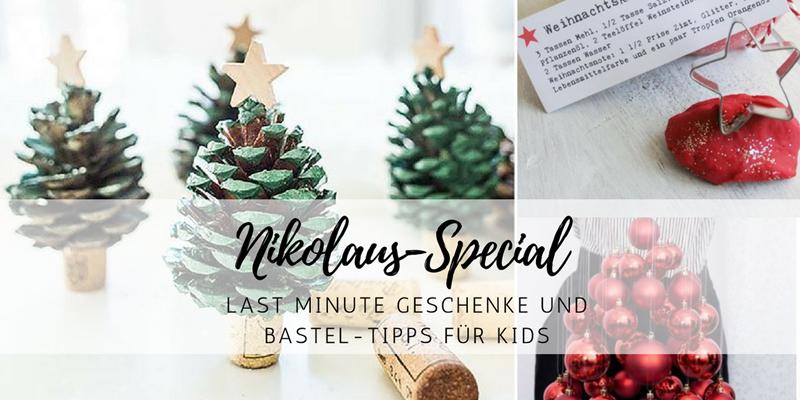 Nikolaus Special Last Minute Geschenke Bastel Ideen Für