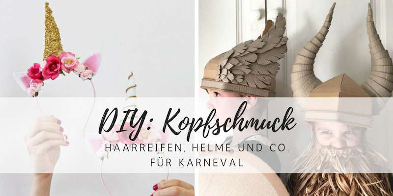 DIY: Haarreifen und Kopfschmuck für Karneval