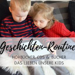 Hörbücher, CDs und Bücher: Wie meine Kinder am liebsten Geschichten hören *Sponsored Post*