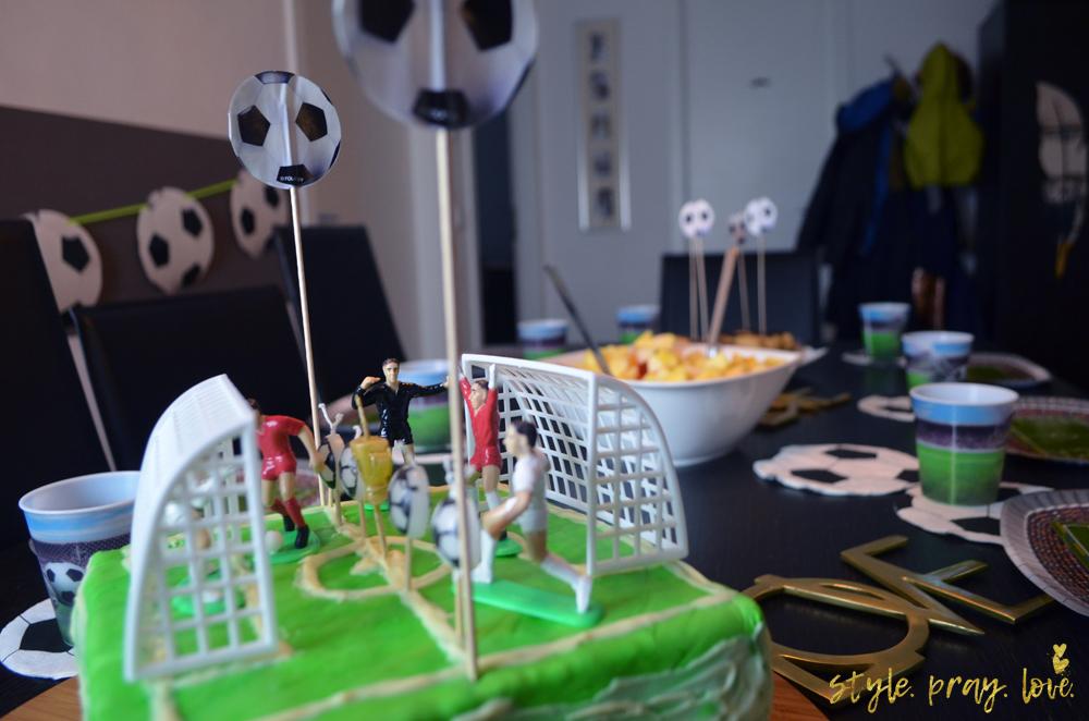 Fussball Party Noahs 5 Geburtstag Style Pray Love