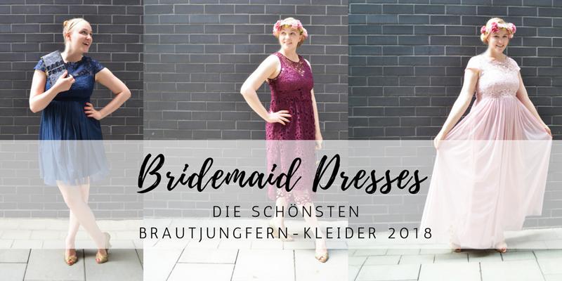 Die schönsten Bridemaid Dresses für den Frühling/Sommer 2018