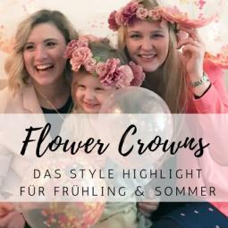 Flower Crowns: die Style Highlights für diesen Frühling & Sommer!
