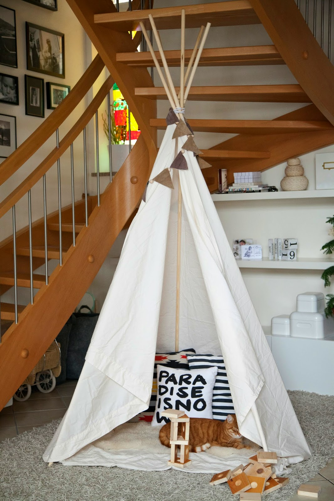 8 diy ideen tipi spielzelt selber bauen style pray love. Black Bedroom Furniture Sets. Home Design Ideas