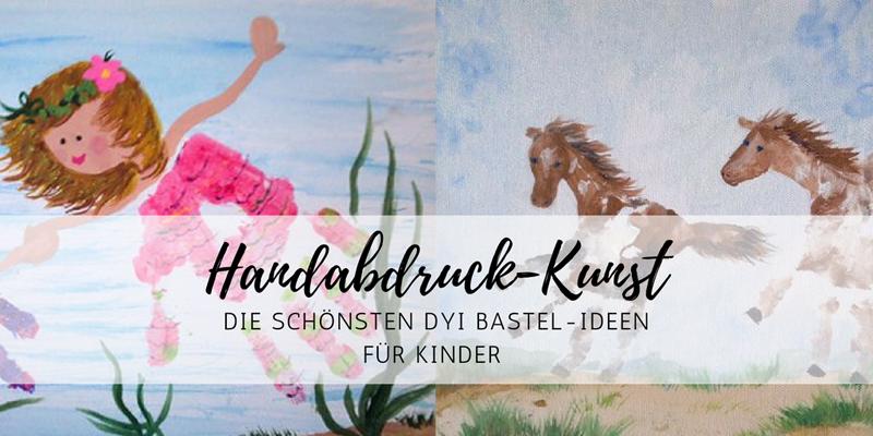 Handabdrücke: die schönsten Bilder – DIY für Kids
