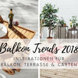 Die Sommer-Trends für Balkon, Garten und Terrasse