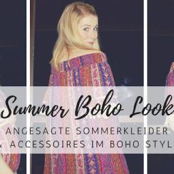 Sommerkleider im Boho-Style