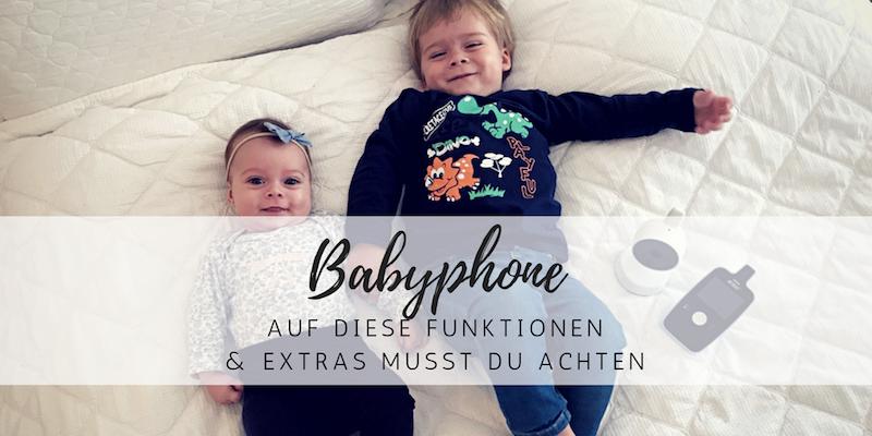 Baby-Erstausstattung: Was bei einem Babyphone wirklich wichtig ist!