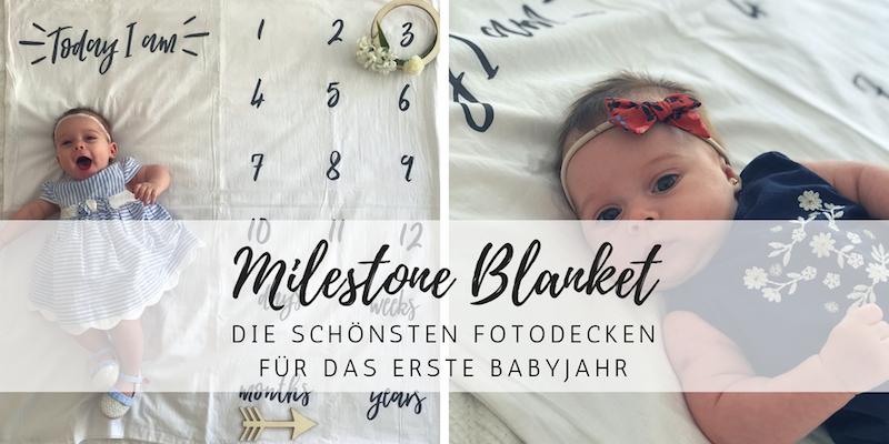 Milestone Blanket: Trendige Fotodecken für Babyfotografie!