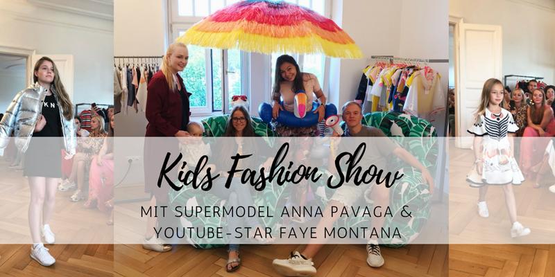 Kids Fashion Show von CWF – mit Supermodel Anna Pavaga und YouTube-Star Faye Montana
