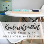 Trendige Sitzgruppen, Stühle und Maltische für Kinder