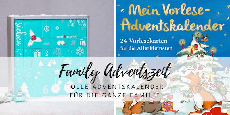 Adventskalender 2018 für die ganze Familie
