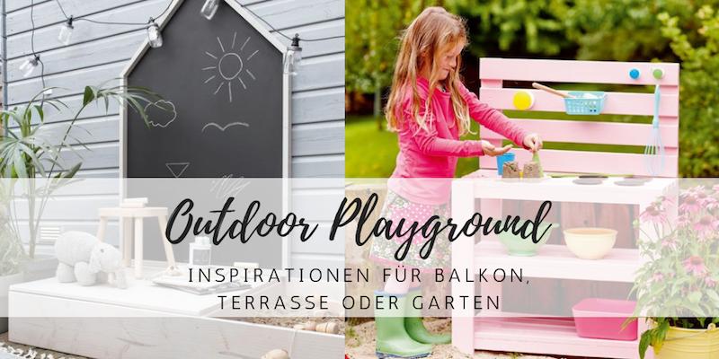 Outdoor-Ideen für Kinder: Spielen auf Balkon und Terrasse