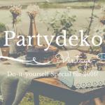DIY Partydeko im Vintage-Stil