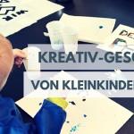 Kreativ-Geschenke von kleinen Kindern