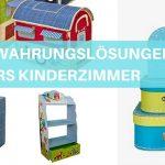 Die schönsten Aufbewahrungslösungen für Kinder-Spielsachen