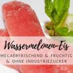 Wassermelonen-Eis – supereasy und superlecker