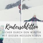 Mit dem richtigen Kinderschlitten sicher durch die kalte Jahreszeit