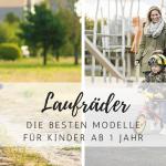 Geschenkidee: Die besten Laufräder für Kinder