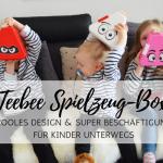 Teebee – die Spielzeug-Box für Kinder unterwegs