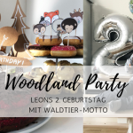 Woodland-Party: Waldtiere an Leons 2. Geburtstag