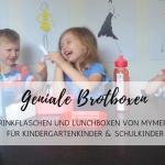 Individualisierbare Lieblings-Brotboxen und -Trinkflaschen von MyMepal für Kindergarten- und Schulkinder
