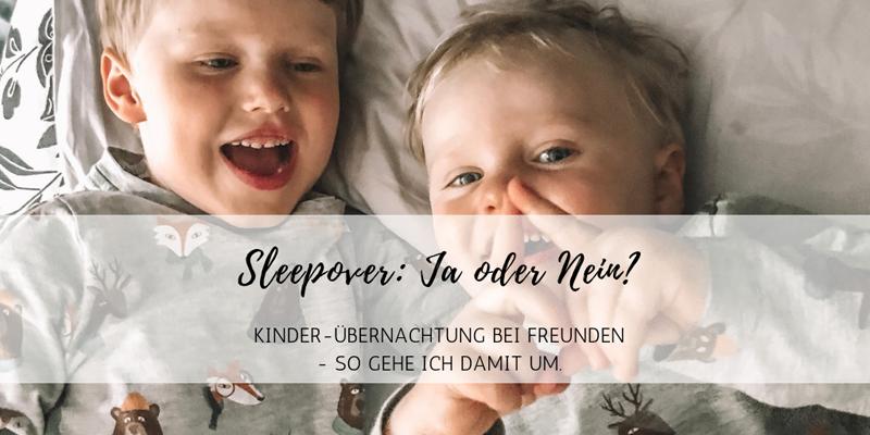 Kinder-Übernachtung bei Freunden: Sleepover ja oder nein?