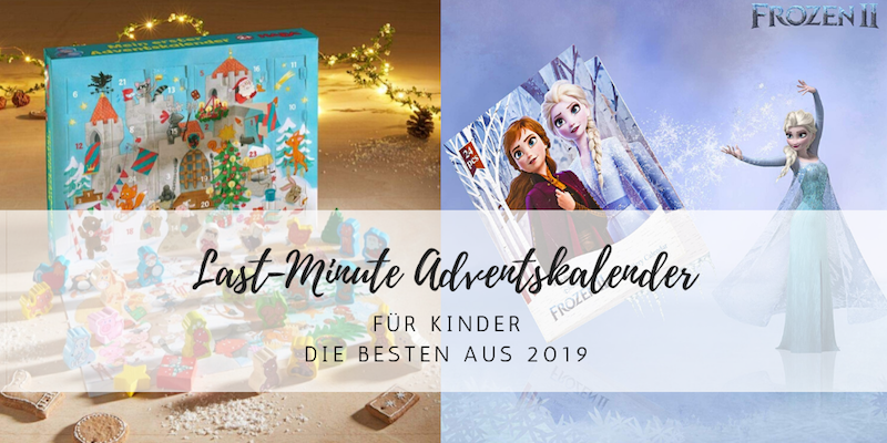 Last-Minute Adventskalender für Kinder