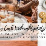 Weihnachtsplätzchen-Rezept: Low Carb Schneeflocken und Lebkuchenmänner
