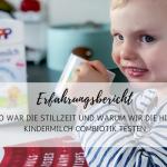 Erfahrungsbericht: So war die Stillzeit und warum wir die HiPP Kindermilch Combiotik testen